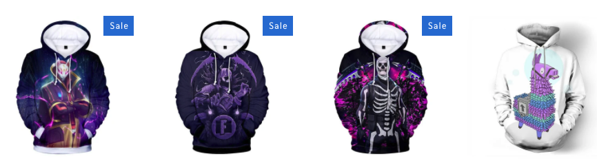 Fornite Hoodies For Boys
